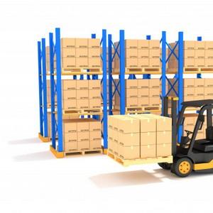 Rack de metal para armazenagem em geral